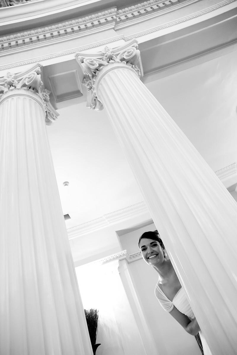 Entre columnas clásicas