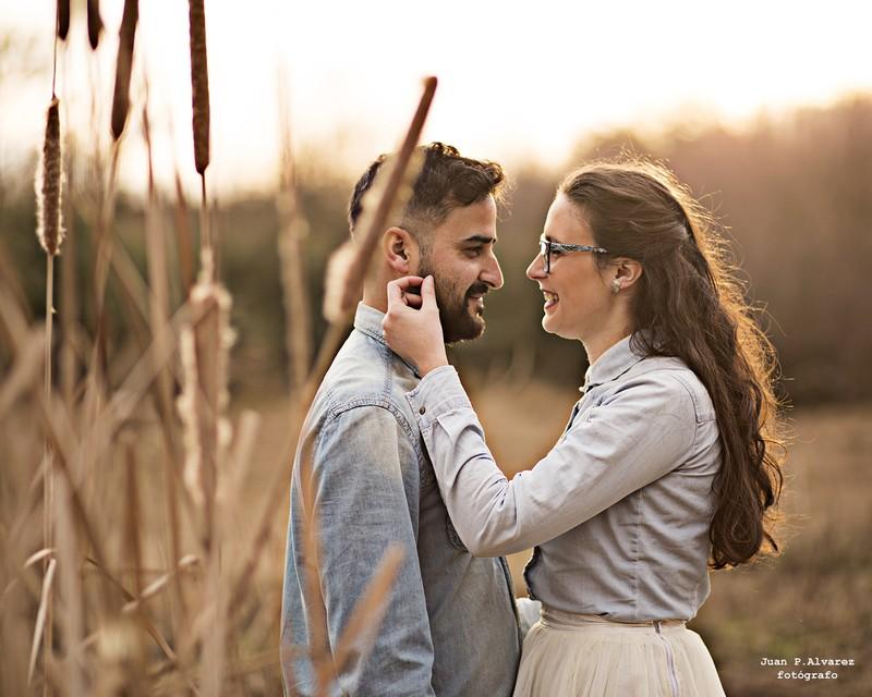 Sesión de pareja con encanto