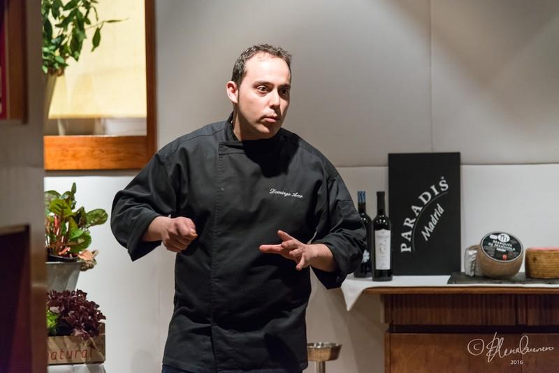 Master class impartida por nuestro chef Domingo Arco