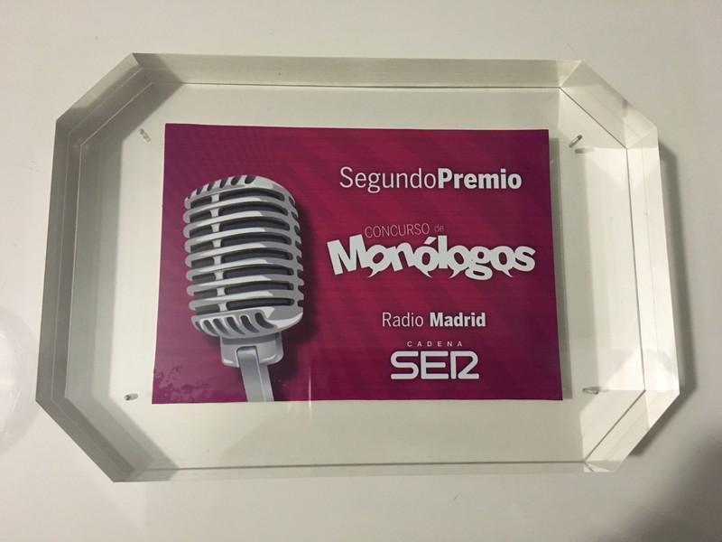 2º Premio de monólogos Cadena Ser (Madrid)