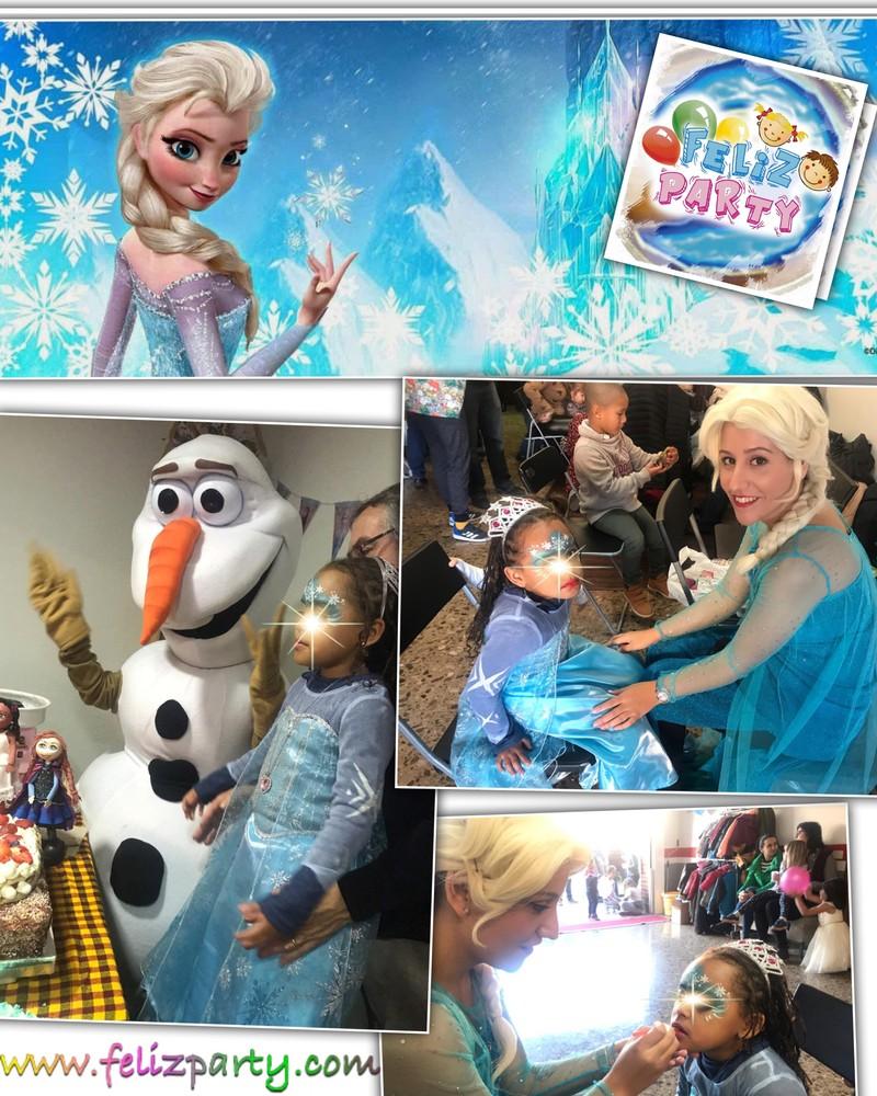 Frozen animación