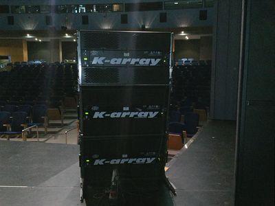 Omega Sonido presta servicio en la subcategoría de Equipos de sonido en Sevilla