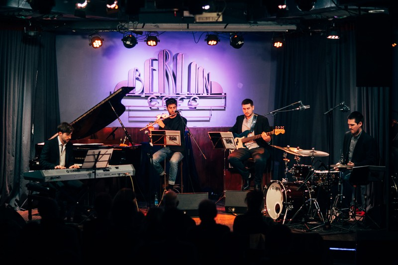 Quartet minvant Cafe Berlin (Madrid)