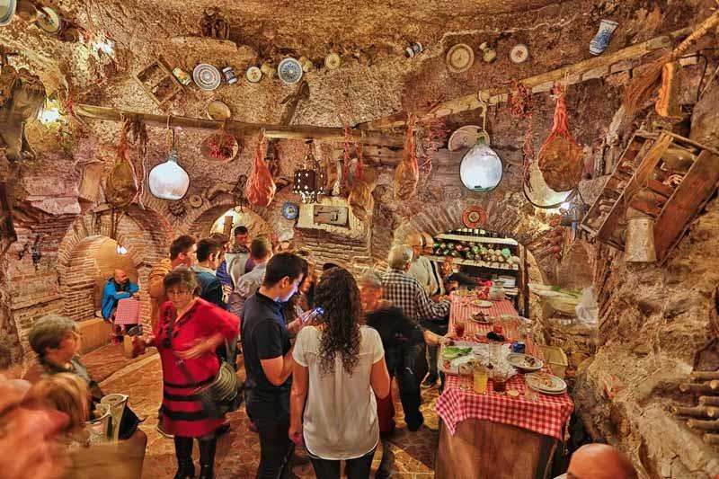 Las Cuevas del Principe siglo XVIII