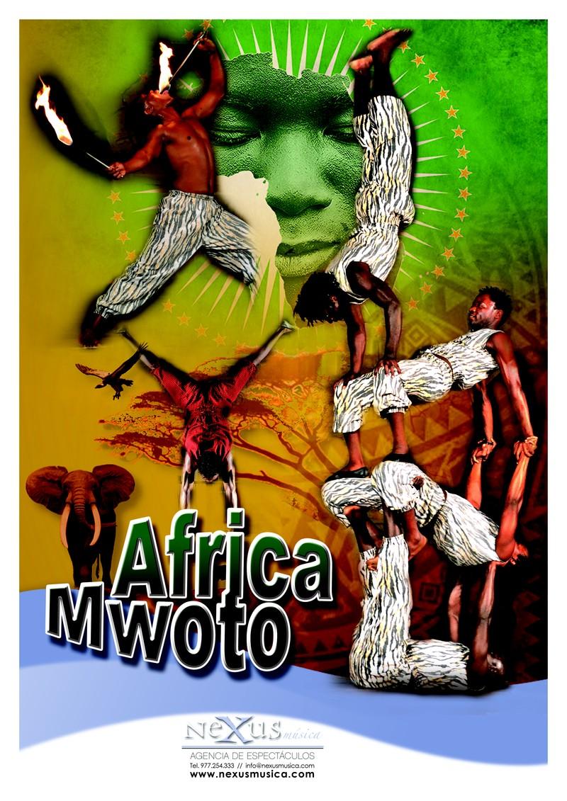 ACROBATAS AFRICA MWOTO 4 COMPONENTES