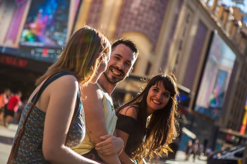 Fotos urbanas grupales