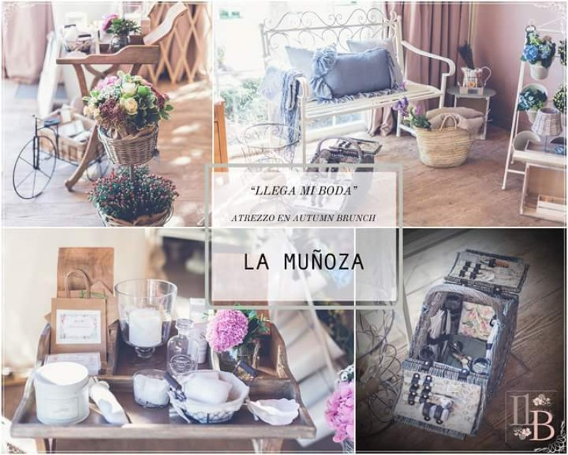 Expositor bodas Finca La Muñoza