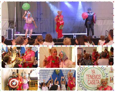 Yupita Animadora Infantil presta servicio en la subcategoría de Animadores infantiles en Sevilla