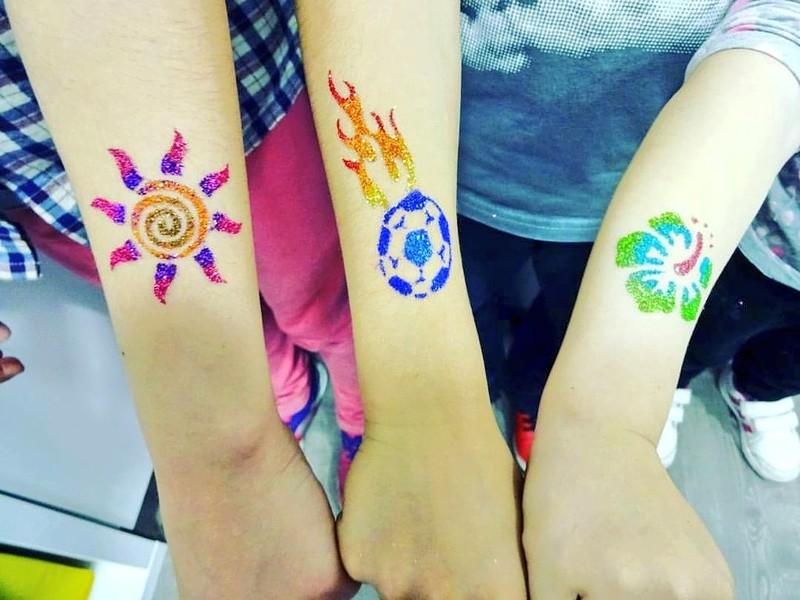 Tattoos de purpurina