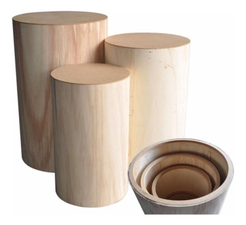 Cilindros en madera