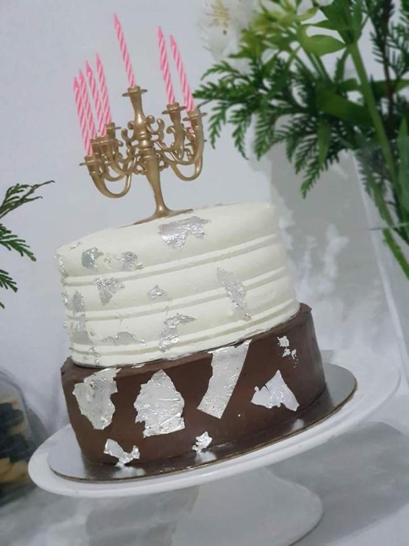 Tarta boda rustica