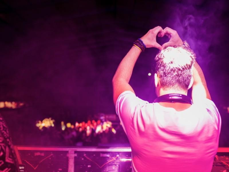 DJ en grandes eventos