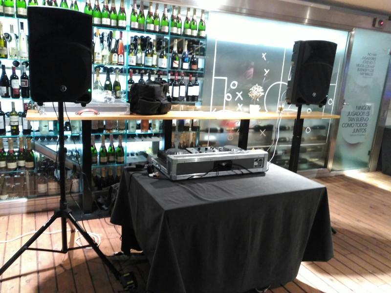 Fiesta privada en Café Bernabeu
