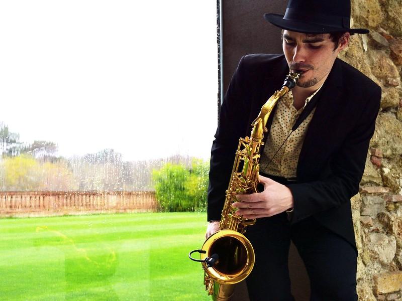 SAX ON ARA - Saxofonista en Barcelona