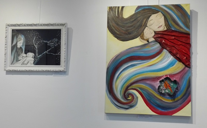 Exposición de pintura de Cristina Estevas