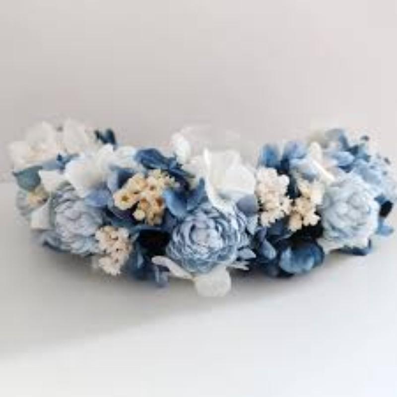 peineta en flor preservada