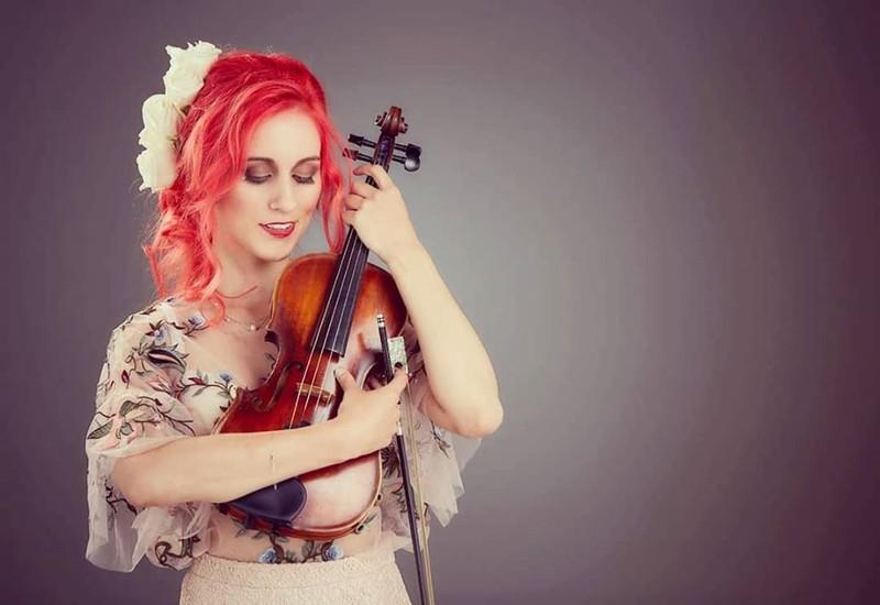 Estefanía Rivera violinista