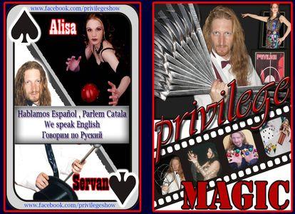 Privilege Magic presta servicio en la subcategoría de Magos para niños en Barcelona