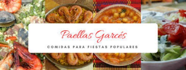 Paellas Garcés presta servicio en la subcategoría de Catering en Zaragoza