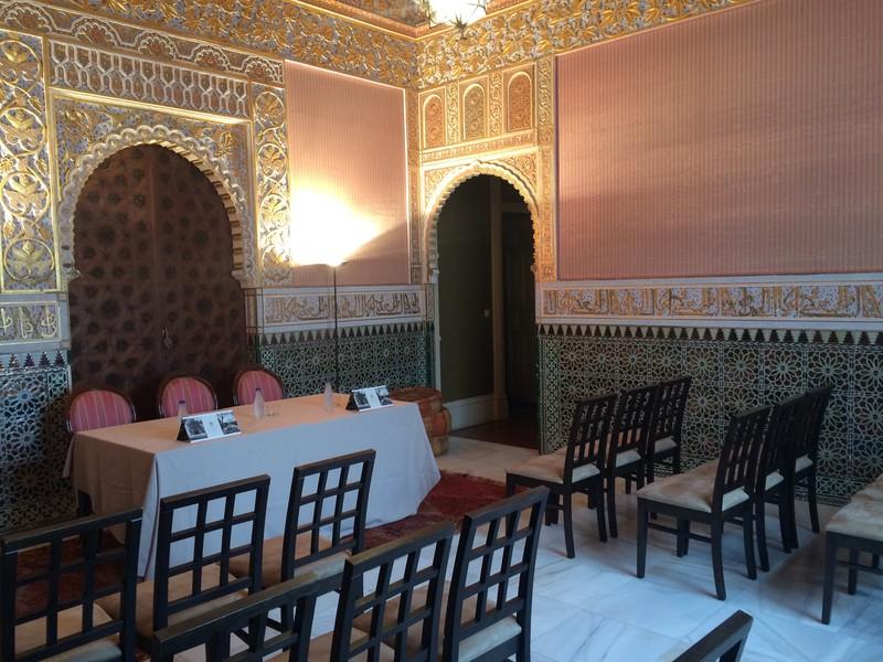 Eventos en el interior del Palacio