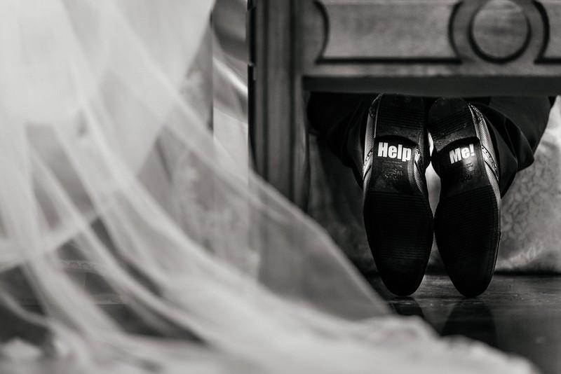 Fotografía documental de boda detalle ceremonia