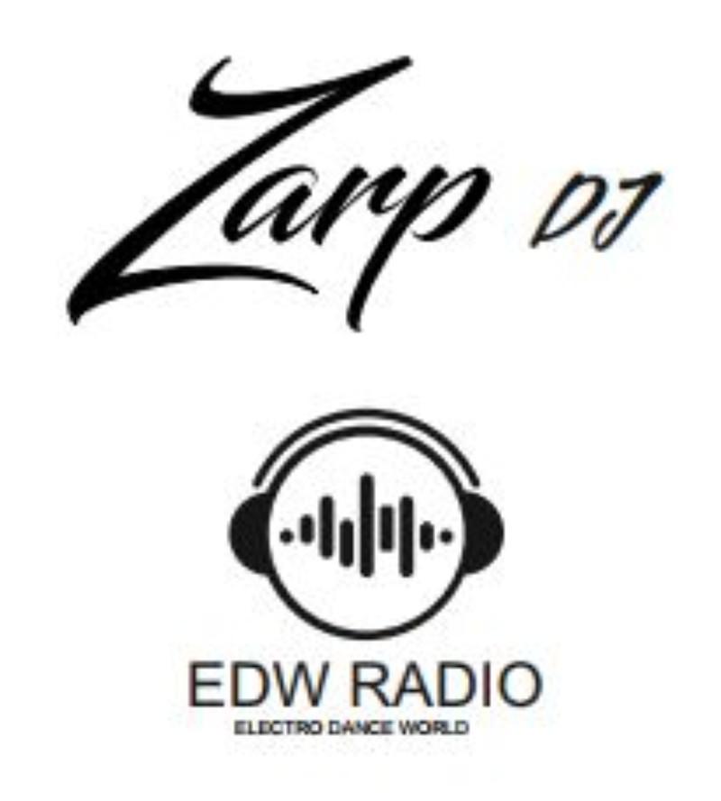Logo Zarp DJ  y Logo Radio