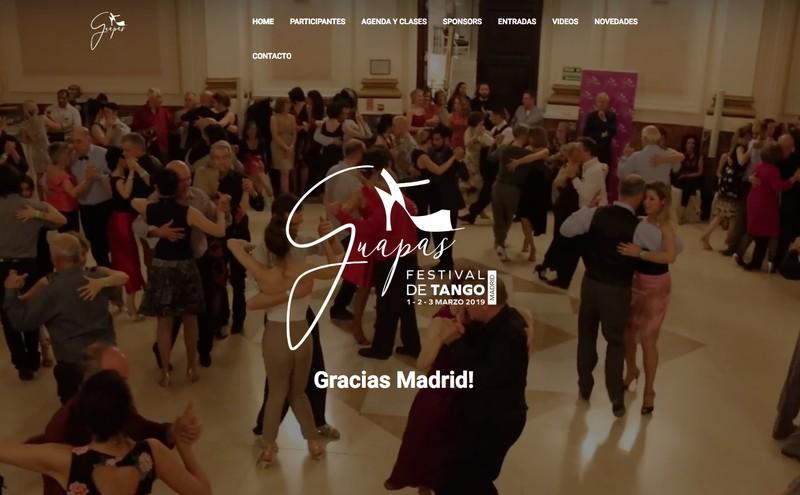 Producción general de Festival Guapas Tango