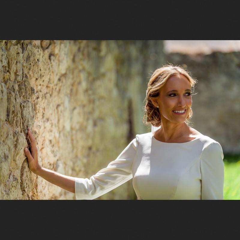 Sara y El Muro. Burgos.