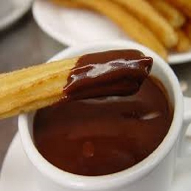 chocolatito con churros