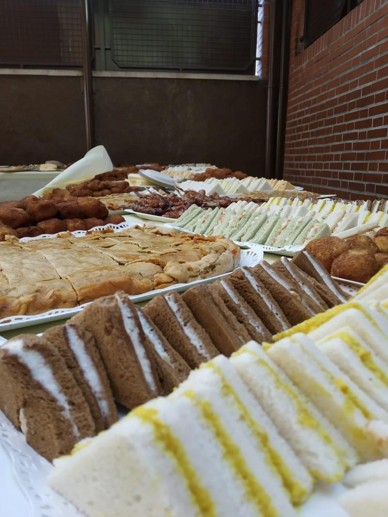 Sandwiches variados