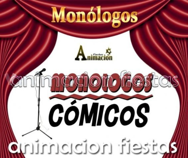 monólogos cómicos