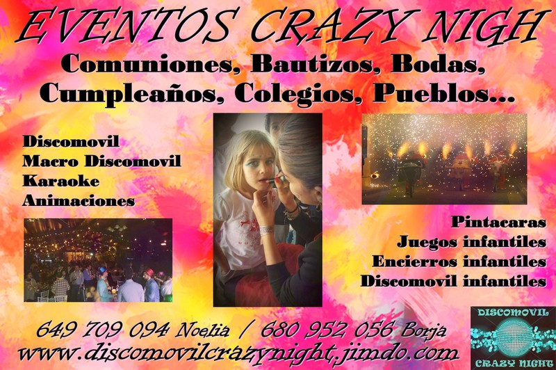 Eventos Crazy Night