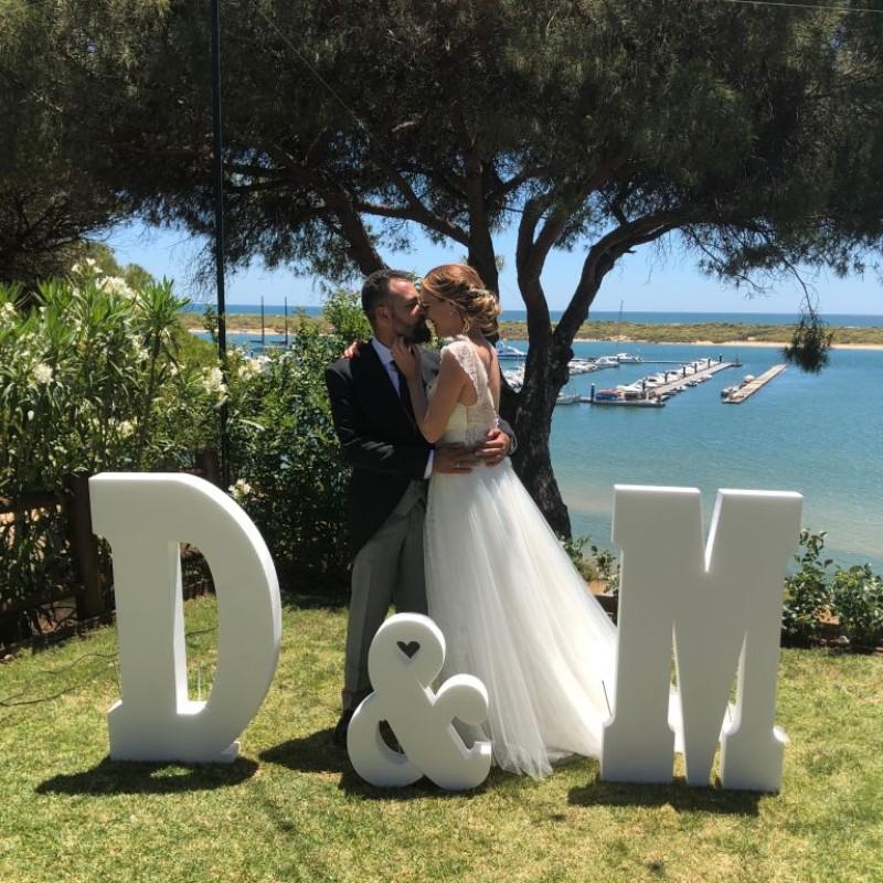letras corcho bodas huelva