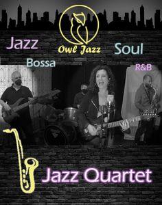 Owl Jazz presta servicio en la subcategoría de Orquestas, cantantes y grupos en Madrid