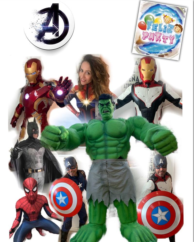 Superhéroes animación