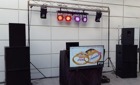 Pineda Hifi Eventos presta servicio en la subcategoría de Fotomatón y Photocall en Córdoba