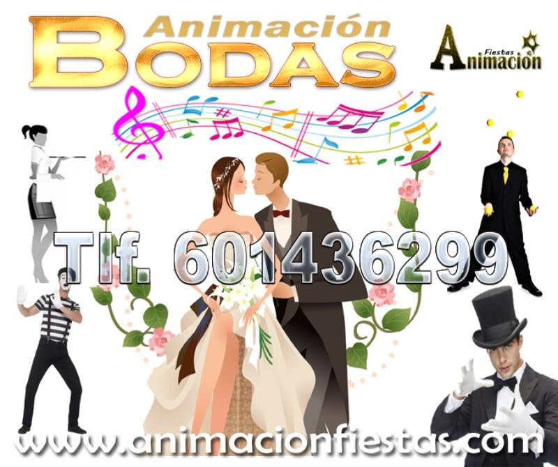 animación para bodas