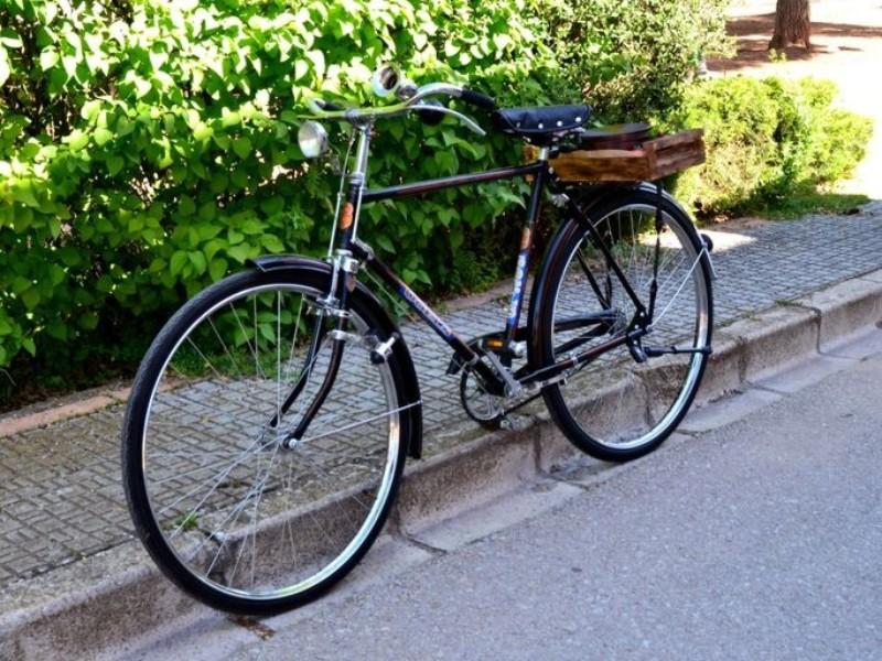 Alquiler bici antigua de varillas años 70