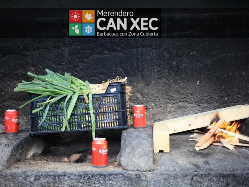 Can Xec - Barbacoas con Zona Cubierta