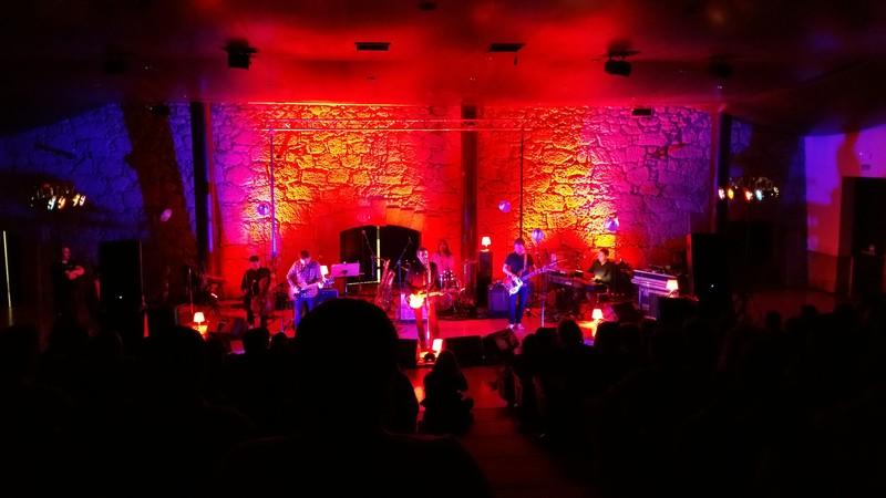 Sonido e iluminación para conciertos