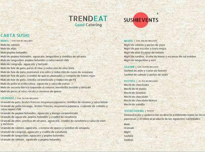 TRENDEAT         GOOD CATERING presta servicio en la subcategoría de Catering en Valencia