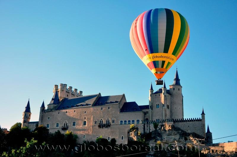 Globos Boreal en Segovia