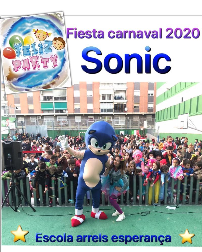 Animación sonic carnaval