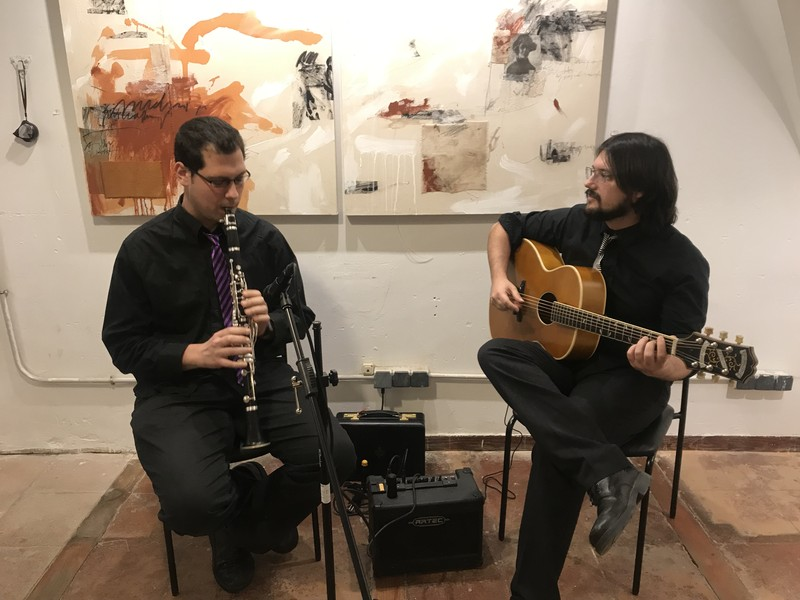 Jazz. Clarinete y guitarra