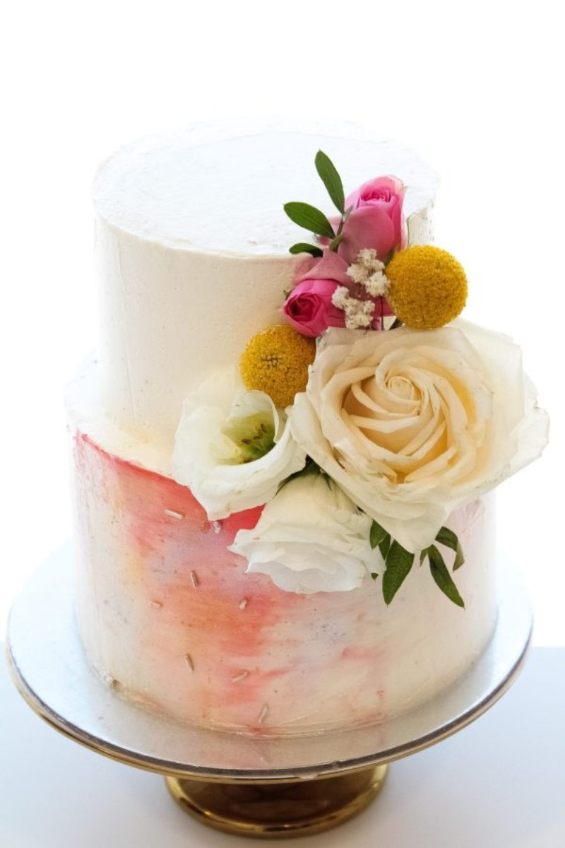 Smooth Watercolour cake