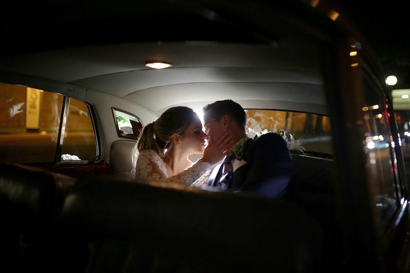 Fotografía de boda nocturna en Cartagena