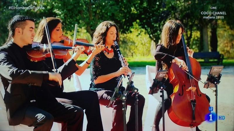 Geupo de Música para rodajes de televisión TVE1