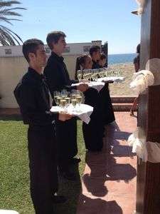 Basala Catering presta servicio en la subcategoría de Catering bodas en Málaga