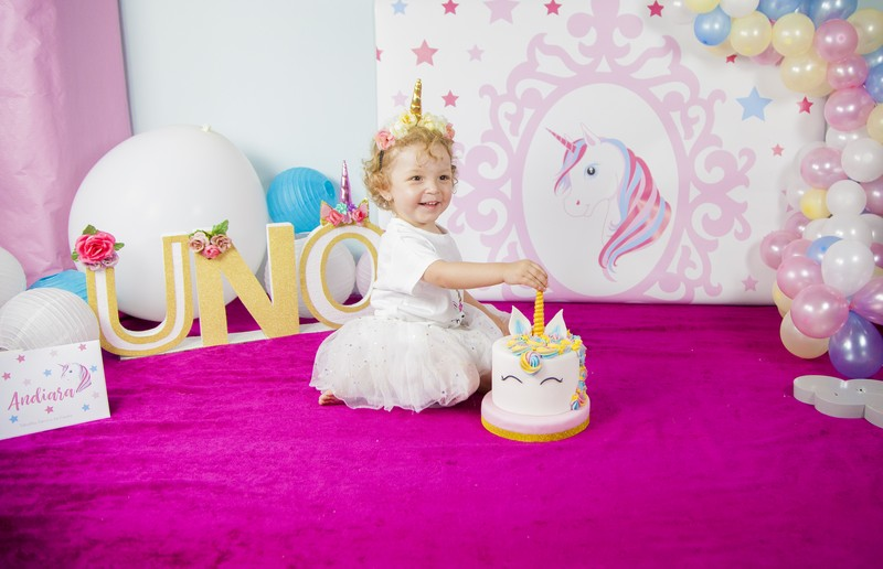 Smash Cake Unicornio
