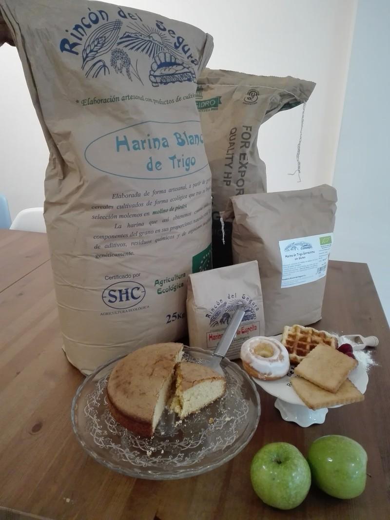 Nuestros dulces caseros con productos ecológicos de calidad